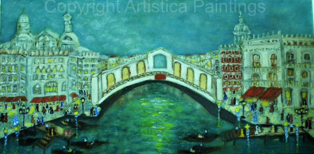 c´era una sera a Venezia