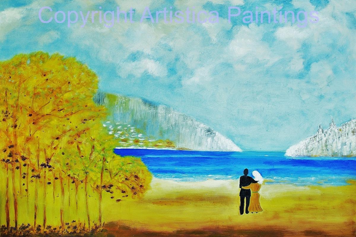 Lago di Garda il autunno