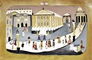 Un giorno di Roma 2000 anni fa olio su tela 100x150 xm